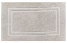 Bianca 100% Cotton Soft Egyptian Bath Mat - Stone