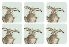 Pimpernel Wrendale Hare Coasters Set of Six