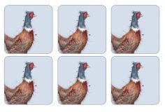 Pimpernel Wrendale Pheasant Coasters Set of Six