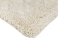 Eva Table Tufted Plain Rug - Opal White