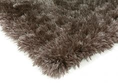 Eva Table Tufted Plain Rug - Smoke Grey