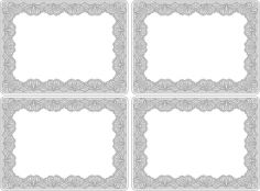 Catherine Lansfield Glamour Lace Placemats Set of Four