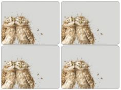Pimpernel Wrendale Owl Placemats Set of Four
