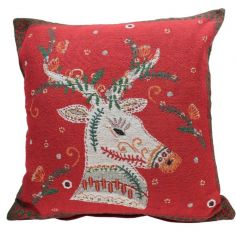 Folklore Christmas Cushion Cover