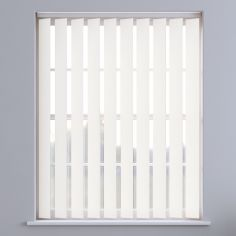 Bahamas Plain Vertical Blinds - Off White
