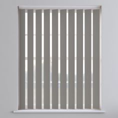 Bahamas Plain Blackout Vertical Blinds - Stone