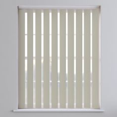 Bahamas Plain Vertical Blinds - Simple Stone