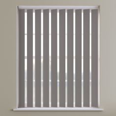 Bahamas Plain Blackout Vertical Blinds - Calm Brown