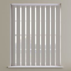 Bahamas Plain Vertical Blinds - Autumn Brown