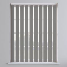 Bahamas Plain Vertical Blinds - Vanished Grey