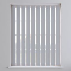 Bahamas Plain Vertical Blinds - Night Grey