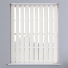 Bahamas Plain Blackout Vertical Blinds - Off White