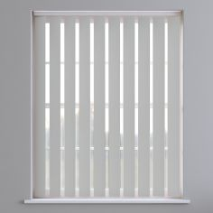 Bahamas Plain Vertical Blinds - Pale Stone