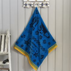 Surf Sea Beach Towel - Blue Multi
