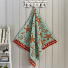 Coral Reef Sea Beach Towel - Multi
