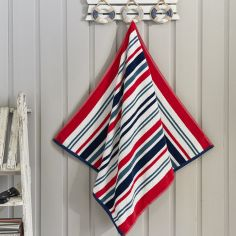 Marbella Stripe Beach Towel - Blue Multi