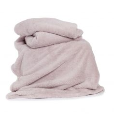 Roosevelt Plain Soft Throw - Pink
