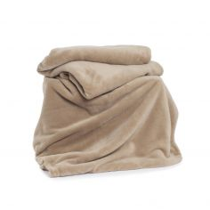 Snuggle Touch Soft Throw - Pebble Natural