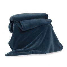 Snuggle Touch Soft Throw - Petrol Blue