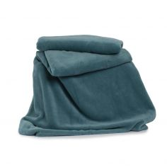 Snuggle Touch Soft Throw - Everglade Blue