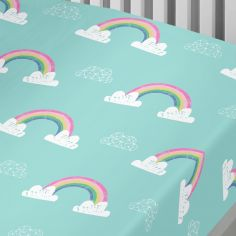 Rainbow Unicorn Kids Fitted Sheet - Multi