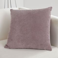 Kilbride Cord Chenille Cushion Cover - Blush Pink