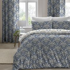 Venito Floral Duvet Cover Set - Blue