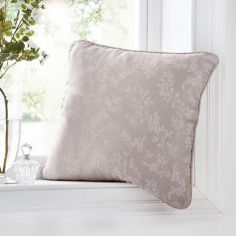 Ebony Floral Trail Cushion Cover - Mauve