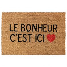 Ici Printed Rectangular Door Mat