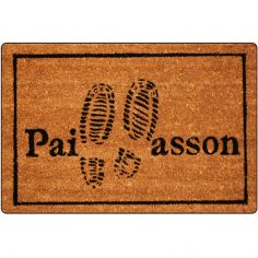 Pas Printed Rectangular Door Mat
