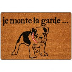 Reception Printed Rectangular Door Mat