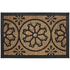 Lenaic Printed Rectangular Door Mat