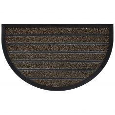 Marco Half Moon Door Mat - Chocolate Brown
