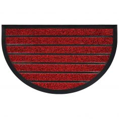 Marco Half Moon Door Mat - Red
