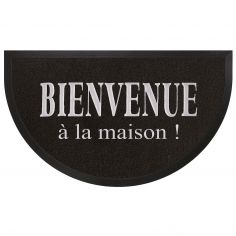 Maison Half Moon Door Mat - Black