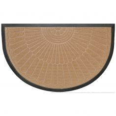 Coquille Half Moon Door Mat - Natural