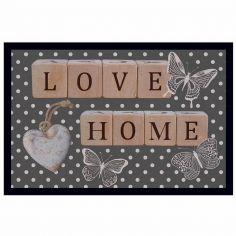 Doty Love Home Rectangular Door Mat