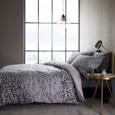 Catherine Lansfield Animal Print Duvet Cover Set - Natural