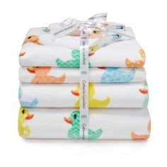 Catherine Lansfield Rubber Duck Towel Pack - Multi