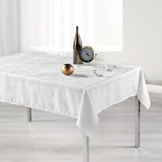 Alisson Jacquard Tablecloth - White