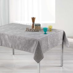 Alisson Jacquard Tablecloth - Grey