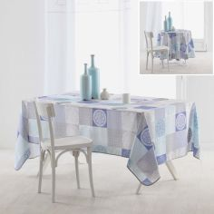 Mantra Polyester Tablecloth - Blue