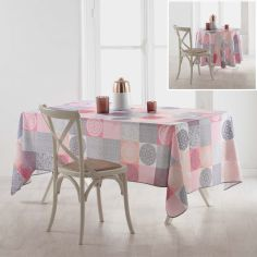 Mantra Polyester Tablecloth - Pink