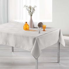 Ondelina Jacquard Tablecloth - Natural