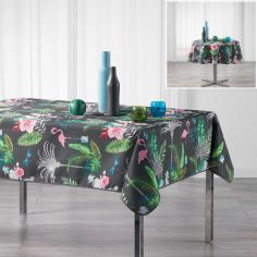 Paradizio Exotic Tablecloth - Charcoal Grey