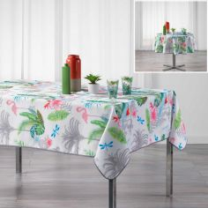 Paradizio Exotic Tablecloth - White