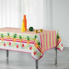 Pastequa Striped Tablecloth - Multi