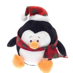 Christmas Penguin Heavyweight Doorstop