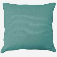 Lana Woven Cotton Cushion Cover - Mint Blue