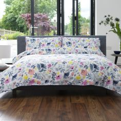 Scandi Colourful 100% Cotton Duvet Cover Set - Multi